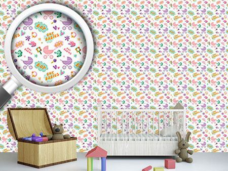 Pattern Wallpaper Our Babies