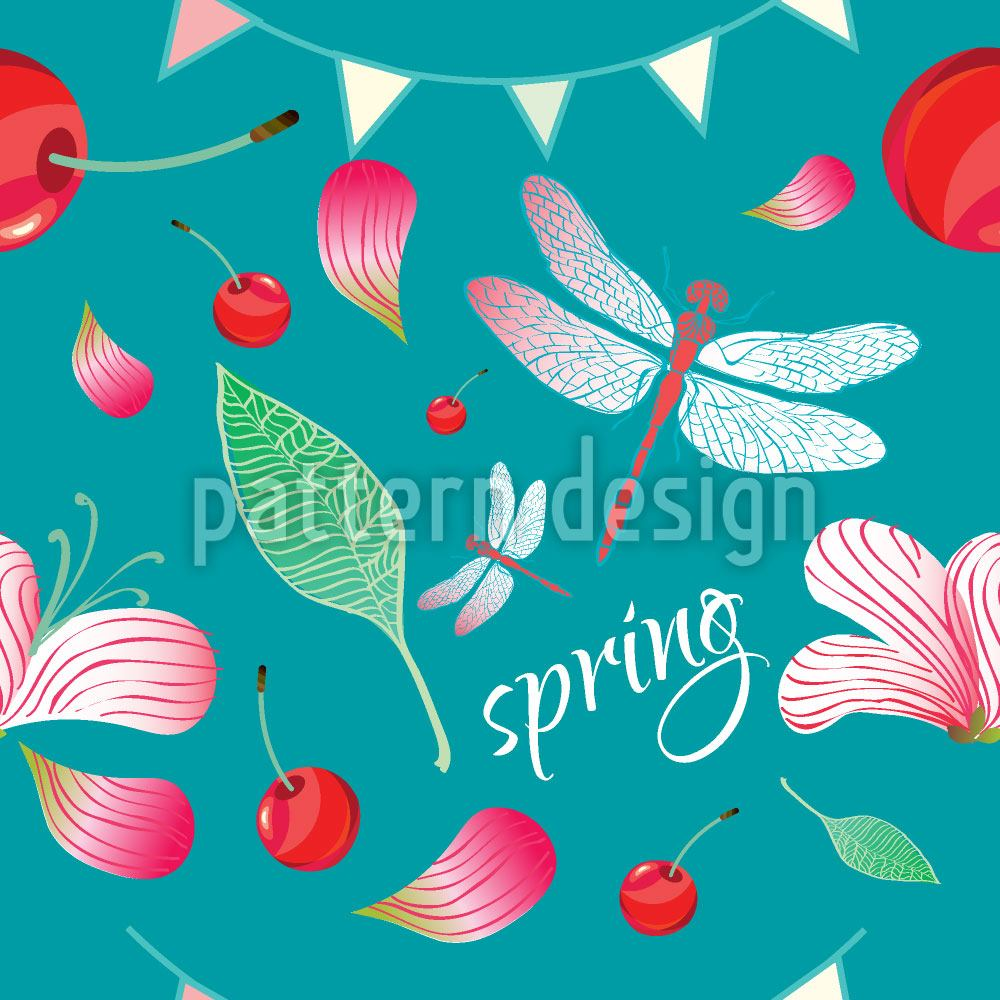 Papier peint design Spring Celebration