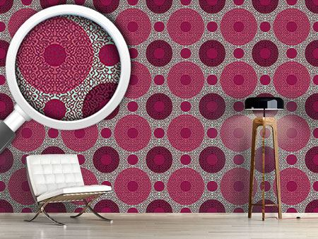 Pattern Wallpaper Ornamental Dots