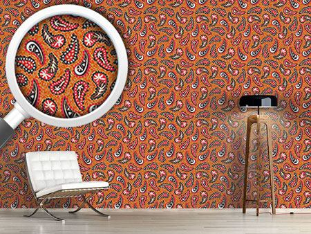 Pattern Wallpaper Classy Paisley Design