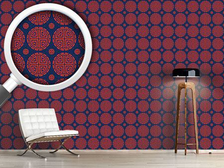 Pattern Wallpaper Mister Chans House