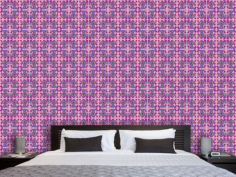 Pattern Wallpaper Asian Abstrakt