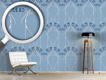Pattern Wallpaper Pelleas Et Melisande On The Sea Side
