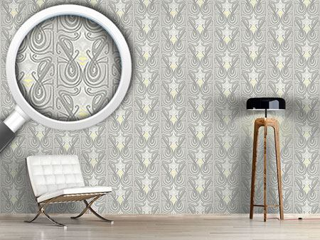 Pattern Wallpaper Undine Crystal