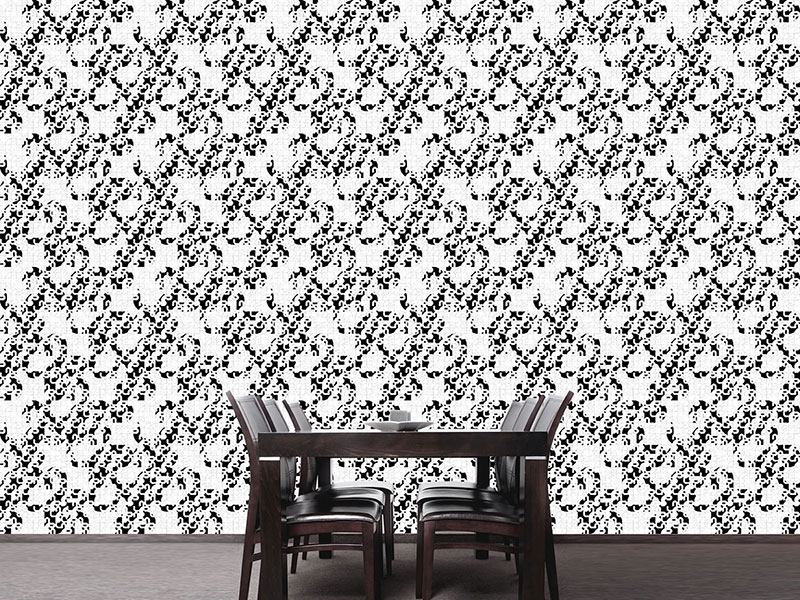Pattern Wallpaper Let It Swing