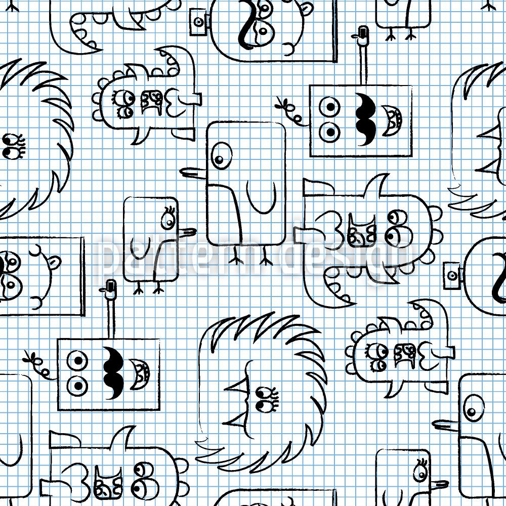 Pattern Wallpaper Papermonsters