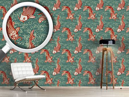 Pattern Wallpaper Nishikigo
