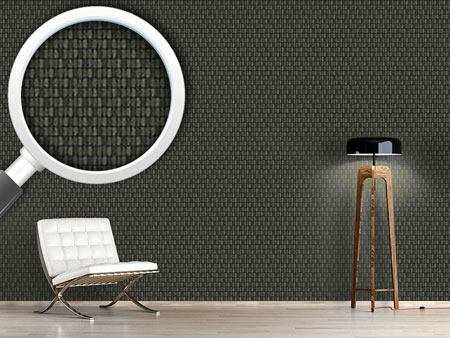 Pattern Wallpaper Scale Skin Black