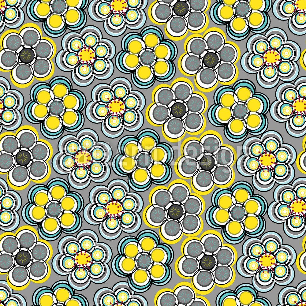 Pattern Wallpaper Yellow Express