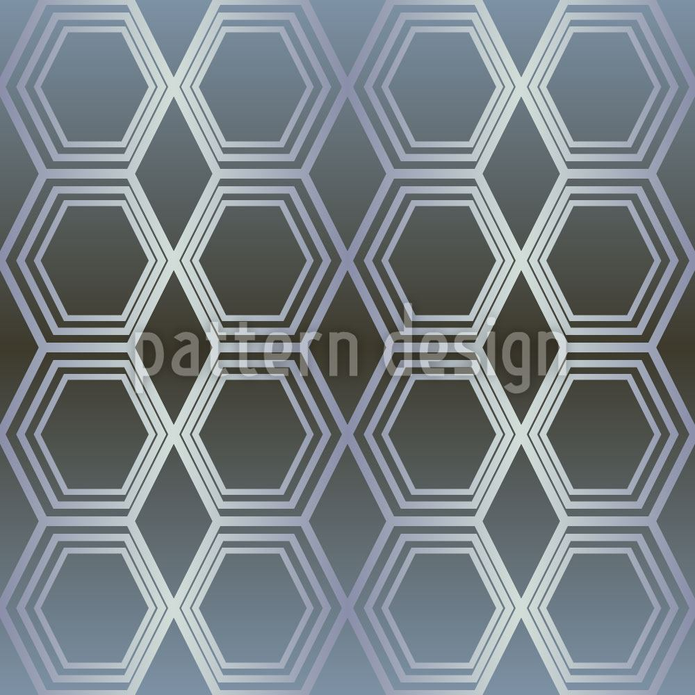 Pattern Wallpaper Hexametal