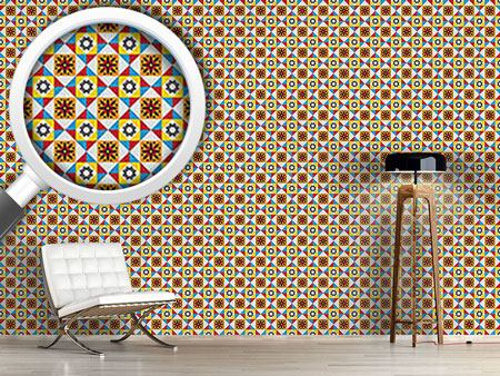 Pattern Wallpaper Portuguese Tiles