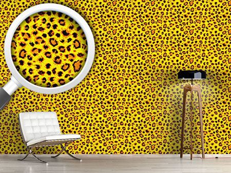 Pattern Wallpaper Wild Cheetah