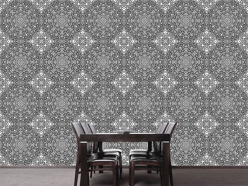 Pattern Wallpaper Rosetta Babylonia