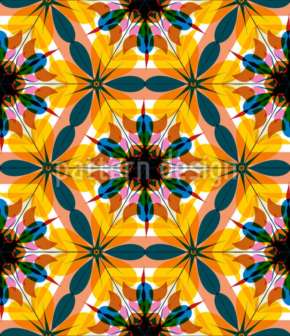Pattern Wallpaper Kaleidoscope Extreme Colors