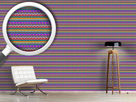 Pattern Wallpaper Wild Colorful Geometry