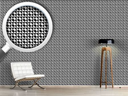 Pattern Wallpaper Houndstooth Geometry