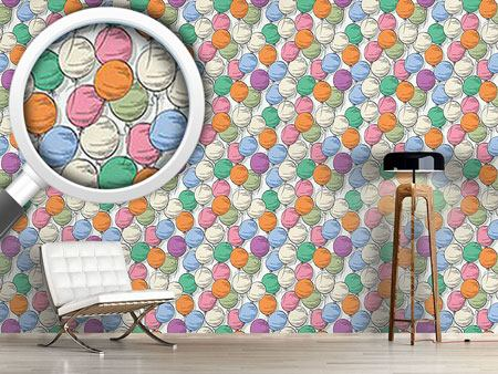 Pattern Wallpaper Balloons