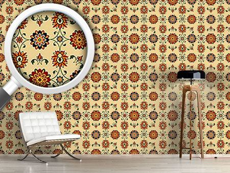 Pattern Wallpaper Wall Flower Damask