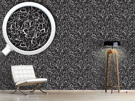 Pattern Wallpaper A Graphic Night Life