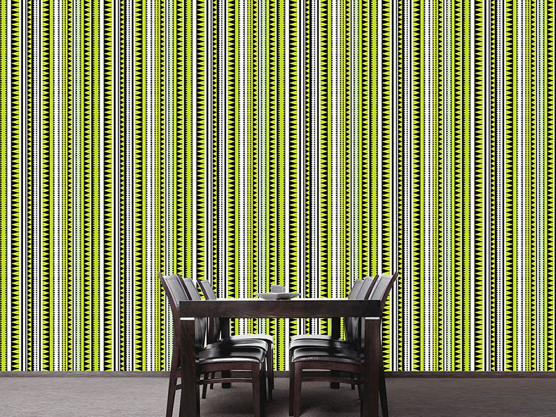 Pattern Wallpaper Crocodile Stripes