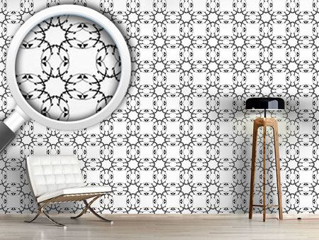 Pattern Wallpaper Gothic Floral