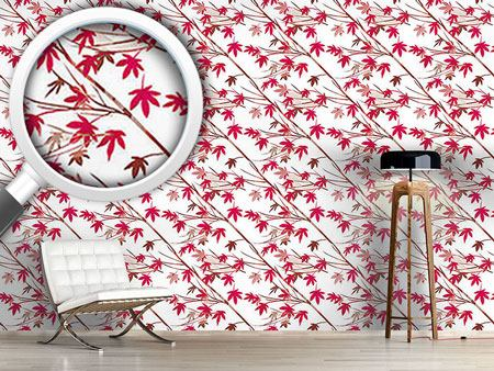 Pattern Wallpaper Japanese Maple