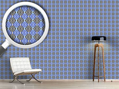 Pattern Wallpaper Diamond Avant Garde