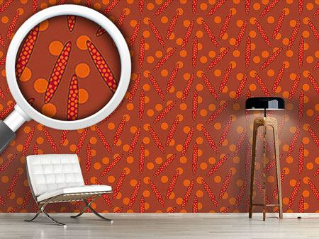 Pattern Wallpaper Seeds Of The Aboriginal