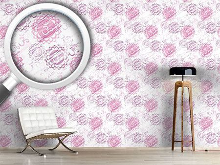 Pattern Wallpaper Om Light