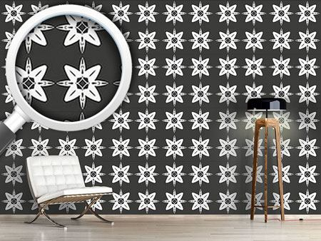 Pattern Wallpaper Nord Star