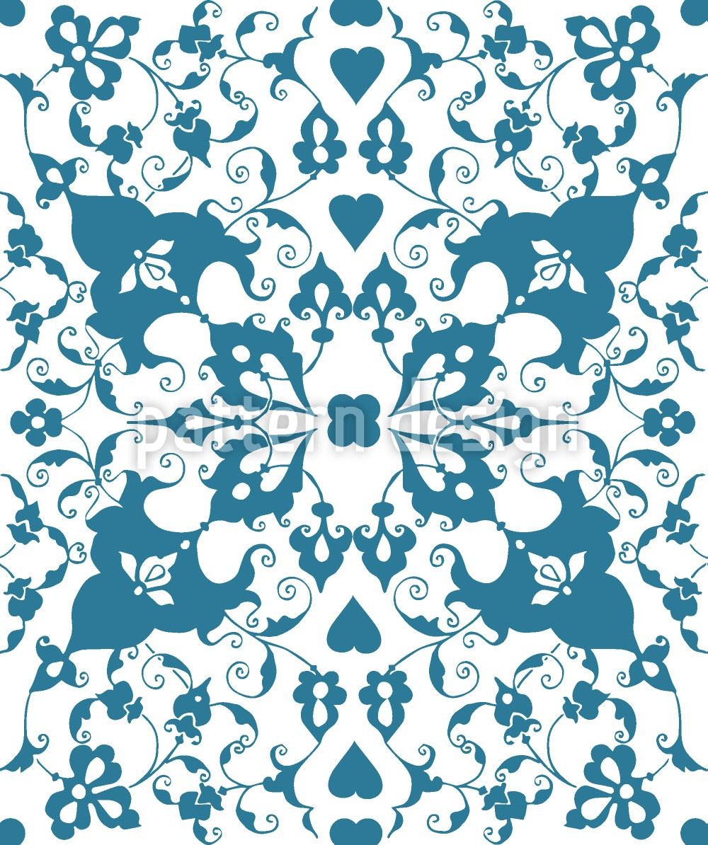 Pattern Wallpaper Arabesque