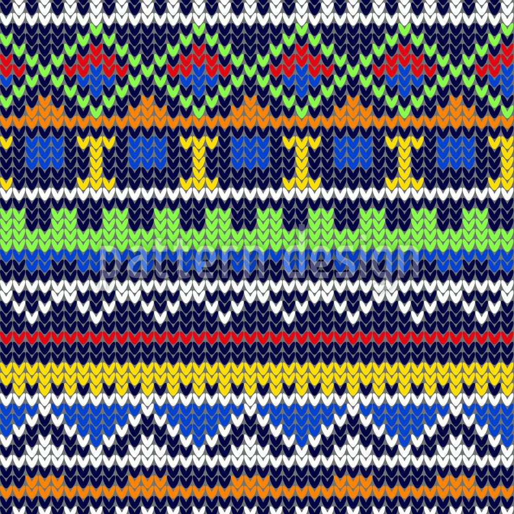Pattern Wallpaper Knitwork