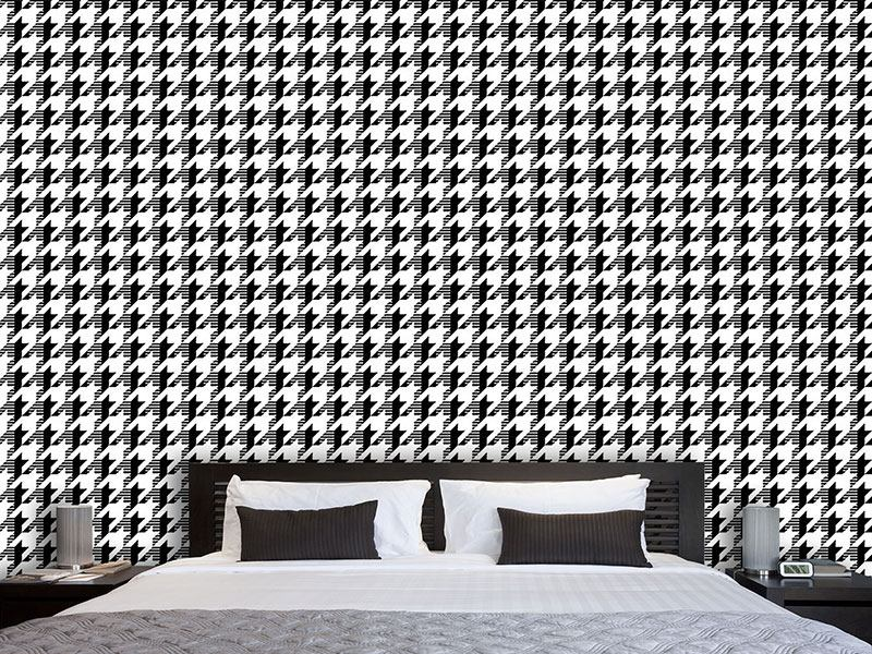 Pattern Wallpaper Houndstooth Timetravel