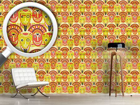 Pattern Wallpaper Popocatepetls Friends
