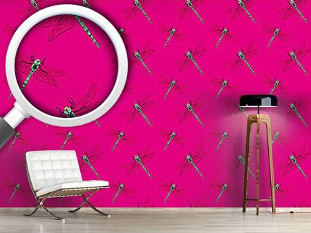 Pattern Wallpaper My Dragonfly