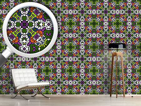 Pattern Wallpaper Tribal Kaleidoscope