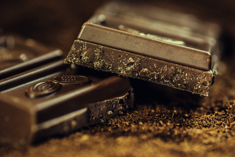 Fototapete Schwarze Schokolade