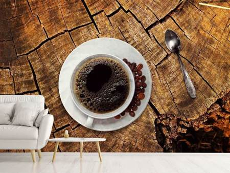 Photo Wallpaper The coffee is ready!