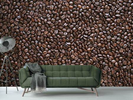 Photo Wallpaper A wall of coffee beans