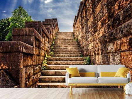 Photo Wallpaper stone stairs