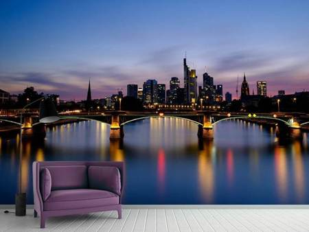 Photo Wallpaper Skyline in a romantic mood