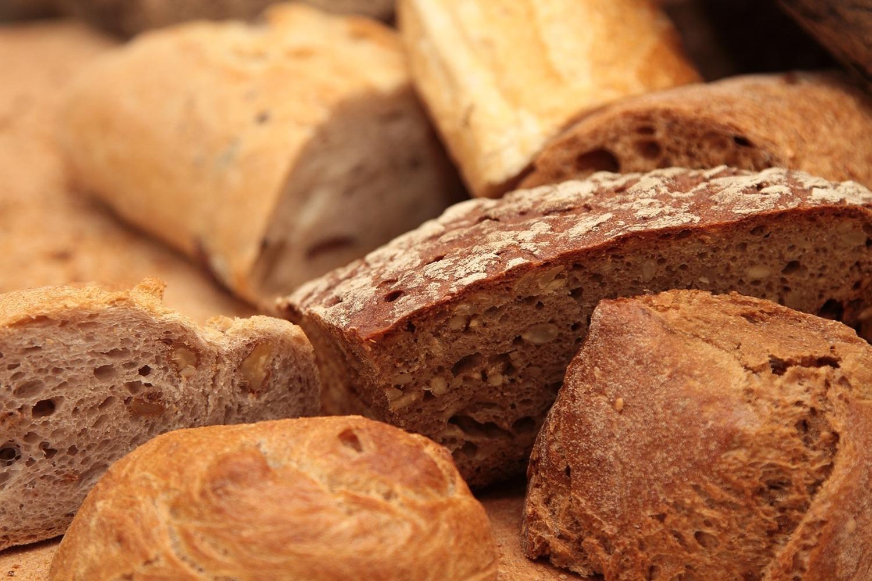 Fototapete Die Brotsorten