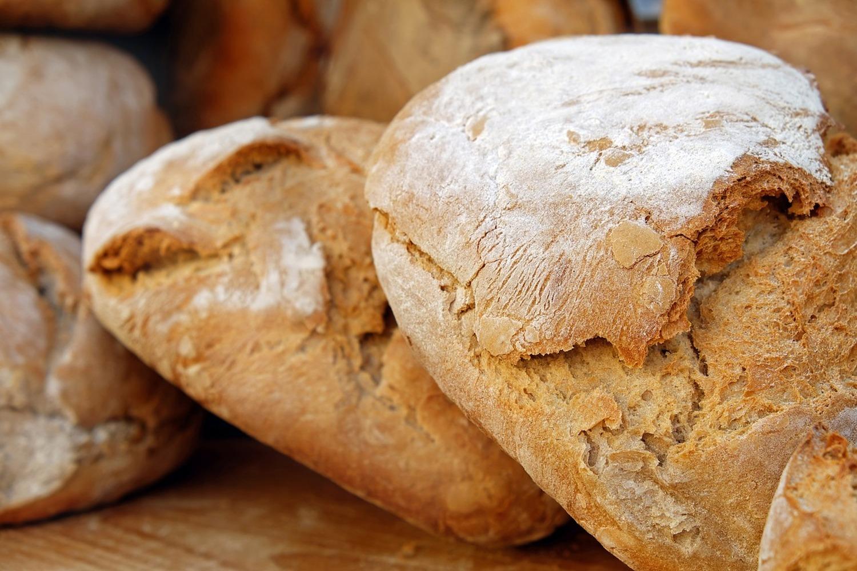 Fototapete Gesundes Brot