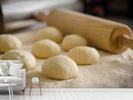 Photo Wallpaper Bun dough