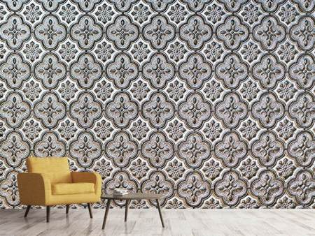 Photo Wallpaper Baroque tiles
