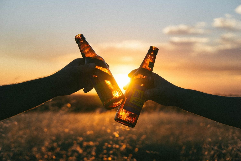 Fototapete Das Feierabend Bier