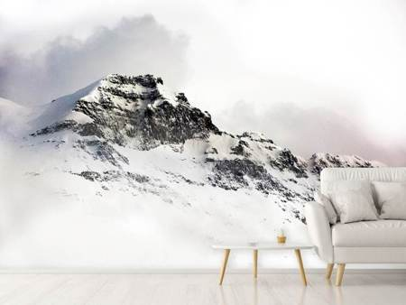Photo Wallpaper A winter in the mountains