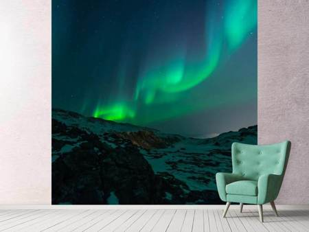 Photo Wallpaper Fascination Northern Lights