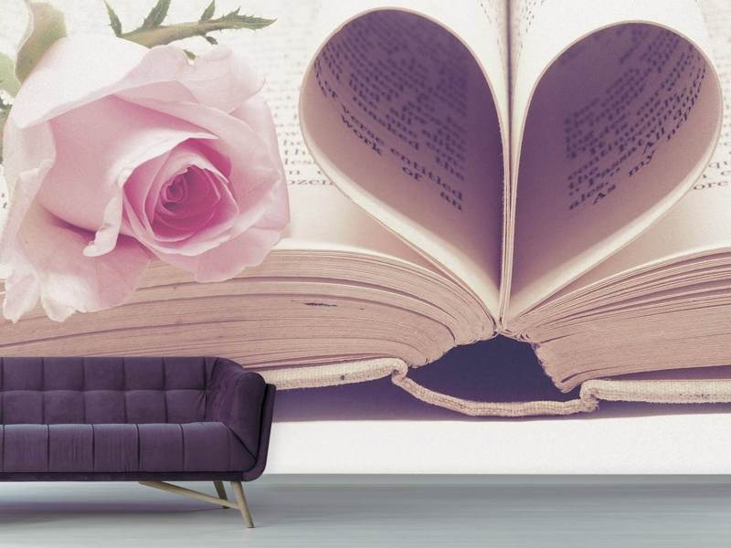 Photo Wallpaper The book of love