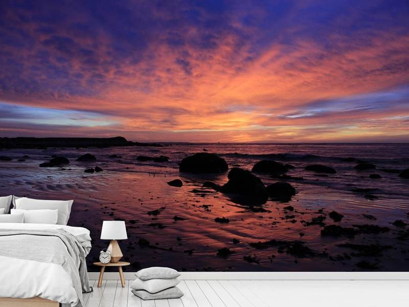 Photo Wallpaper Colorful sunset